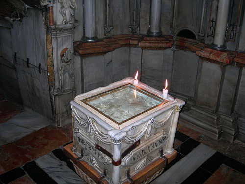 Chapel of Angel, Church of the Holy Sepulcher