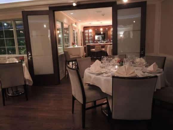 The Secret Garden Restaurant indoor dining, The Pillars Hotel, Fort Lauderdale