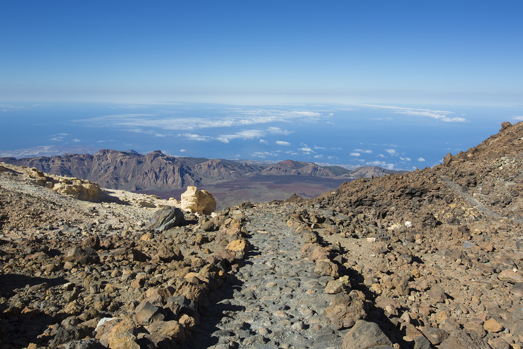 Teide Summit path, Teide National Park, Tenerife