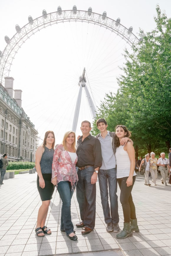 Family Photo - The London Eye (photo credit Flytographer)