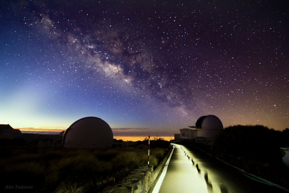Teide Observatory - (photo credit: Alex Tudorica - www.timelessphotons.com)