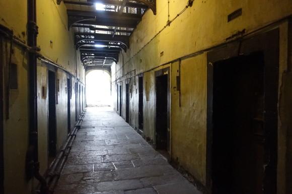 Kilmainham Gaol prison in Dublin, Ireland