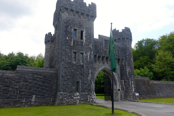 Entrance to Ashford Castle Estate, Ireland