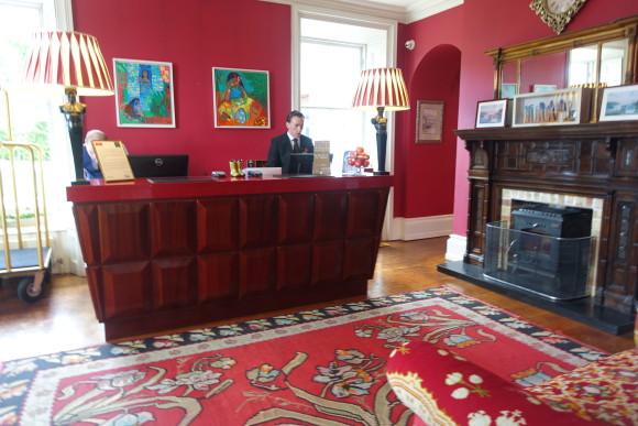The Lodge at Ashford Castle Reception Area