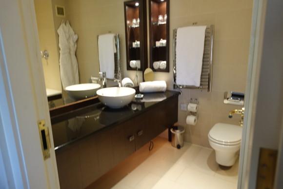 Quay Suite Bathroom - The Lodge at Ashford Castle