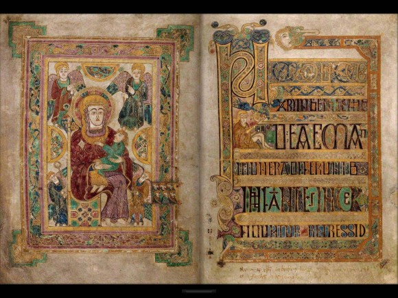 The Book of Kells, Trinity College Library, Dublin
