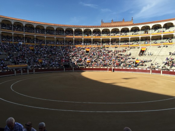 Inside Plaza de Toros of Las Ventas, Madrid