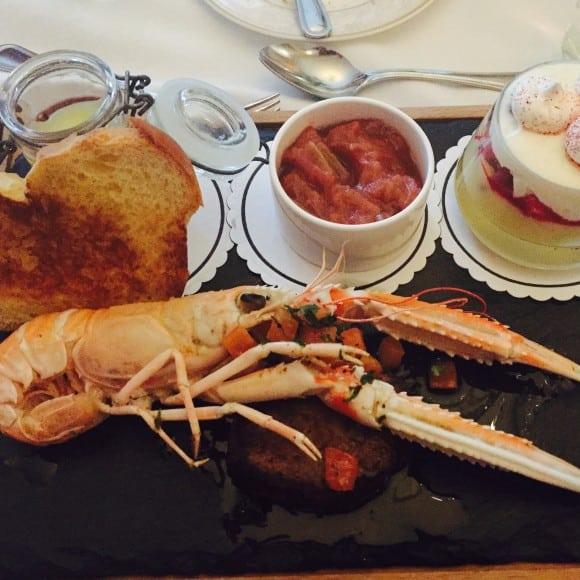 The Shelbourne Dublin, A Renaissance Hotel - Lord Mayor Lounge Shrimp Dinner