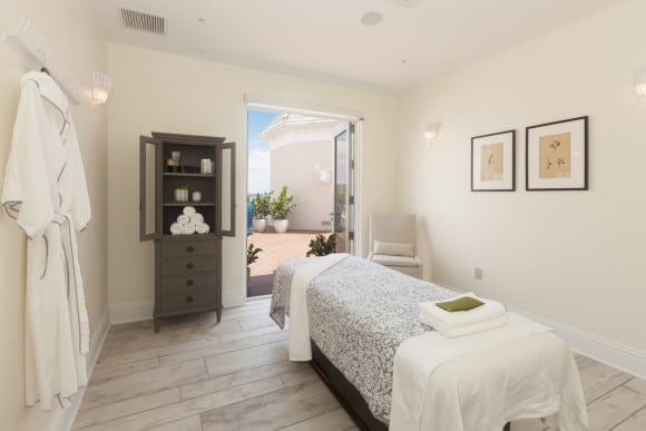 PURE Spa Massage Room - Pelican Grand Beach Resort (photo courtesy of Pure Spa)