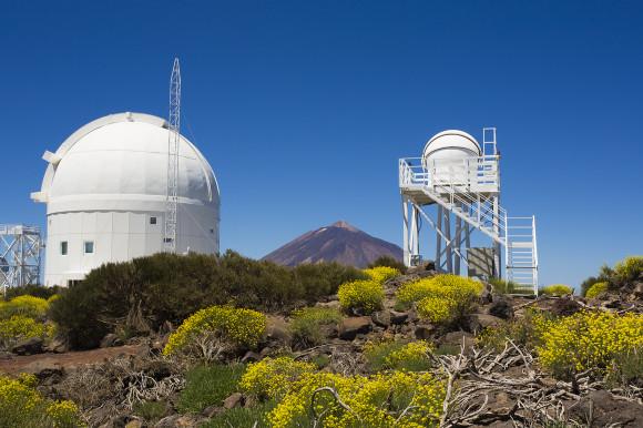 Teide Solar Telescopes - Teide Observatory