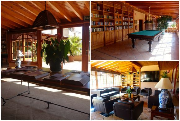 Hotel Botanico Pool and Library