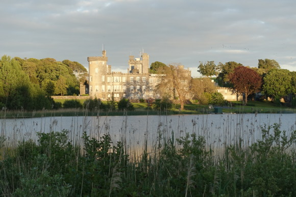Seeing Dromoland Castle as we were driving into the property