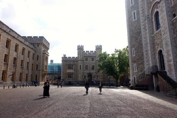 Courtyard of Tower of London