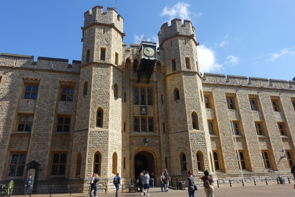 Entrance to Jewel House, Tower of London