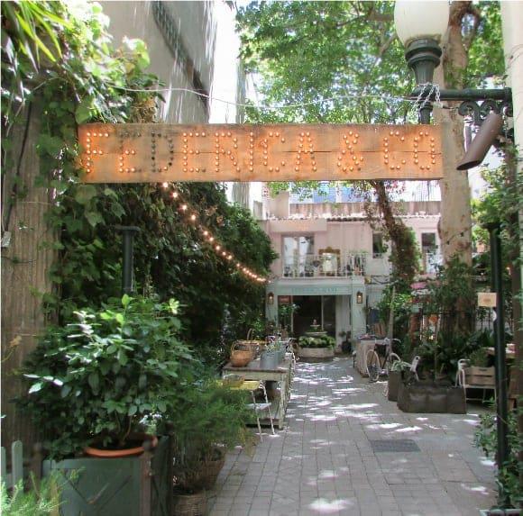 Federica & Co.- Courtyard Garden