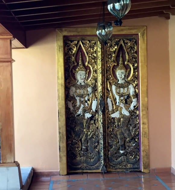 The Oriental Spa Garden Doors to Reception Area, Puerto de La Cruz