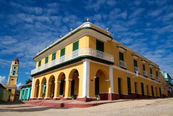 Romantic Museum in Plaza Mayor, Trinidad