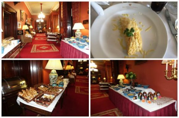 Breakfast at Dromoland Castle