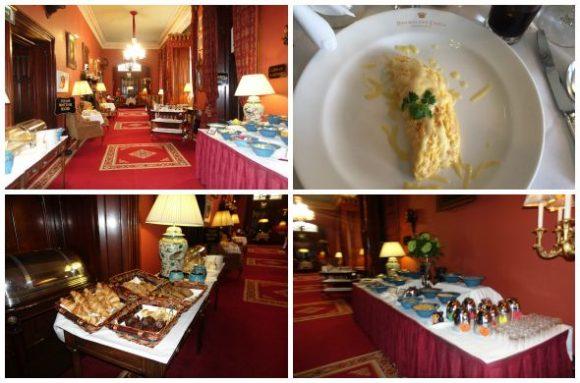Breakfast at Dromoland Castle