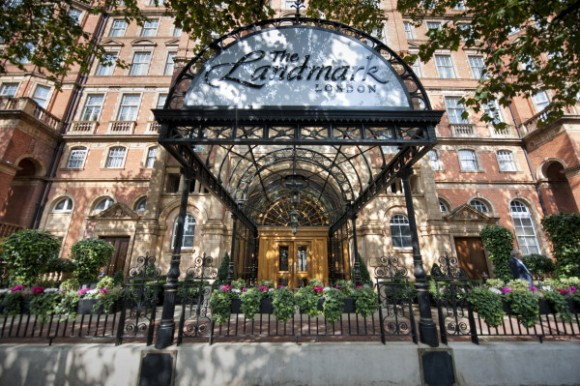 The Landmark London exterior entrance