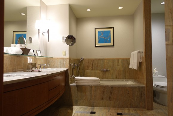 One Bedroom Suite Bathroom - The Ritz Carlton