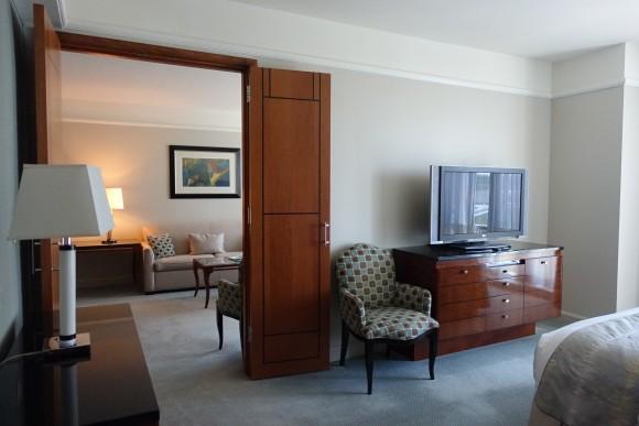 One Bedroom Suite Master Bedroom - The Ritz Carlton