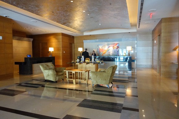 The Ritz Carlton Westchester Reception Area