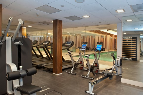 The Landmark London - Gym Area (photo credit: Landmark Hotel)