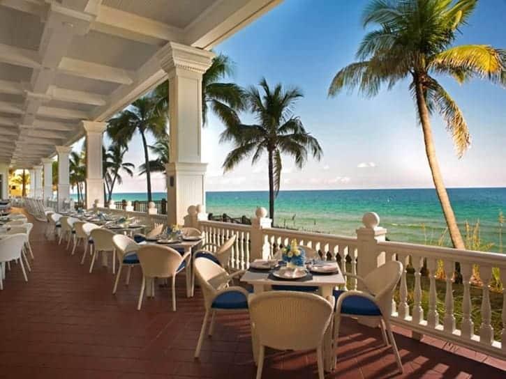 Ocean2000 Dining On The Ocean In Fort Lauderdale