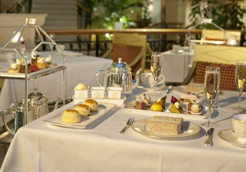 Afternoon Tea at The Landmark London Hotel