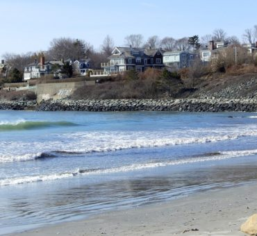 Cliff Walk and Newport Mansions in Rhode Island