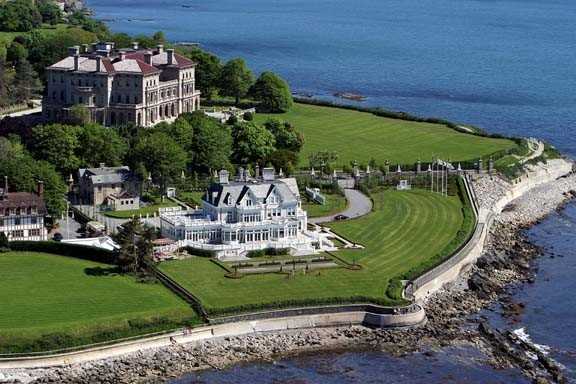 Cliff Walk And Newport Mansions In Rhode Island Carmen