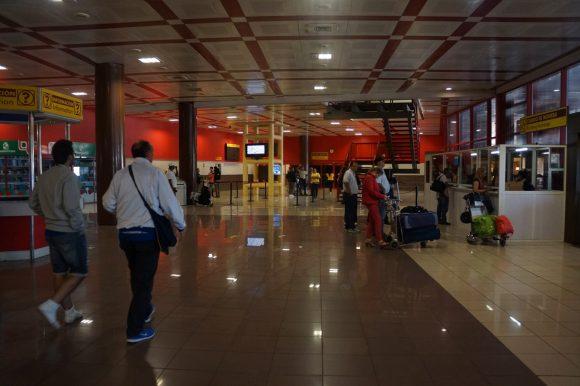 "Arrivals at the ""Jose Marti"" International Airport in Havana, Cuba - Terminal 3"