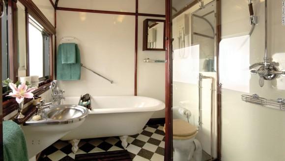 Rovos Rail Bathroom (Image Source: Rovos Rail)