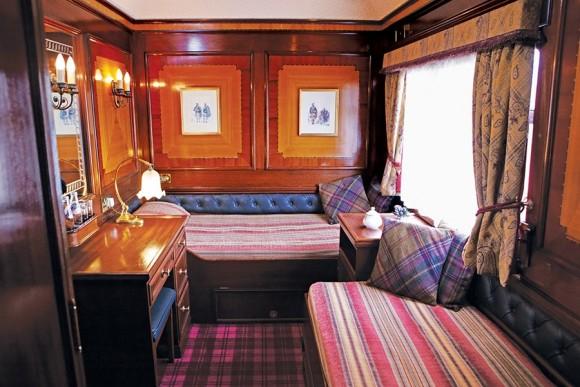 The Belmond Royal Scotsman Sleeper Car (Image Source: Belmond)