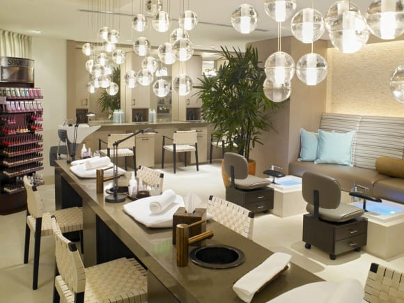 The Palms Spa Aveda Salon (Image Source: The Palms Spa Aveda)