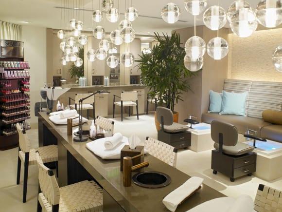 The Palms Spa Aveda Salon (Image Source: The Palms Spa Aveda)