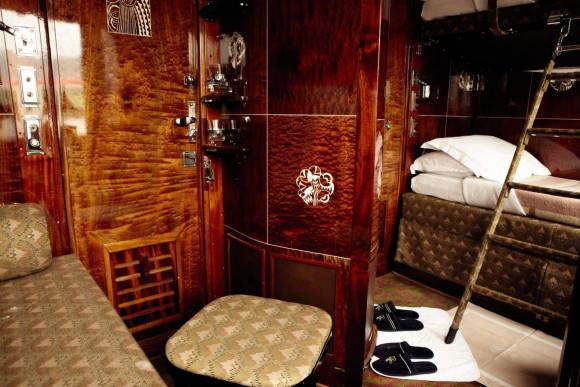 Venice Simpion Orient Express Train Interior