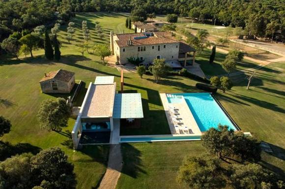 Villa Mas Mateu, Costa Brava (Image Source: MyPrivateVillas.com)