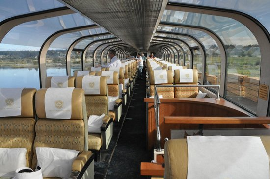 Rocky Mountaineer Train Gold Leaf Carriage