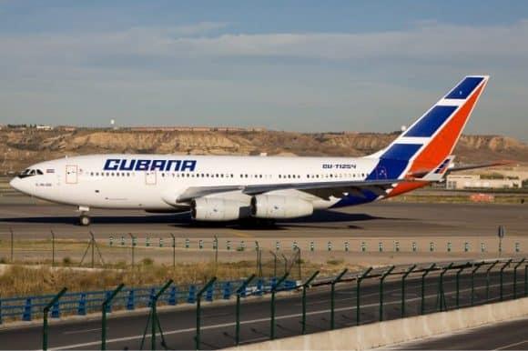 Cubana Transatlantic Plane