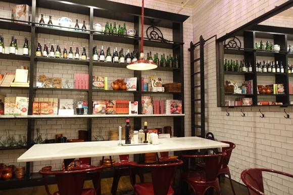 Despaña Fine Foods & Tapas Café Soho- Dining Area