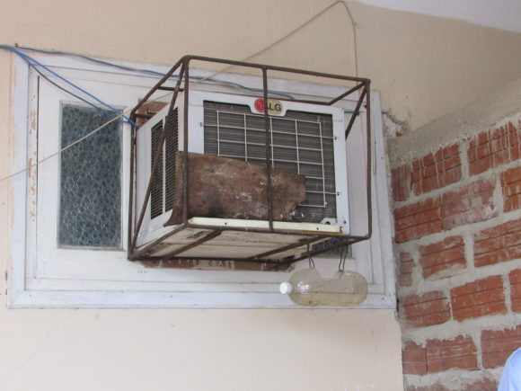 Old LG air conditioning machine