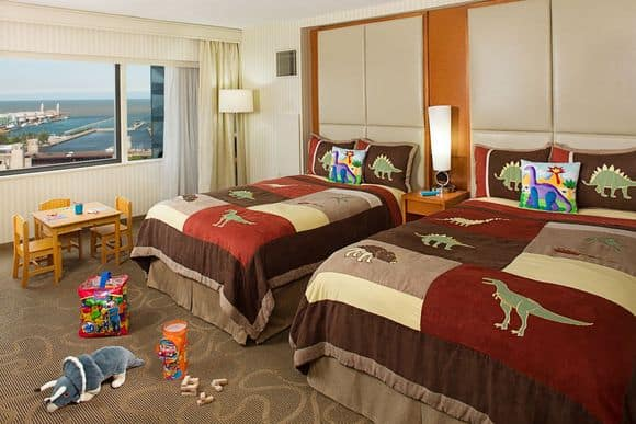 Swissotel chicago luxury downtown convenience carmen for Rooms for kids chicago