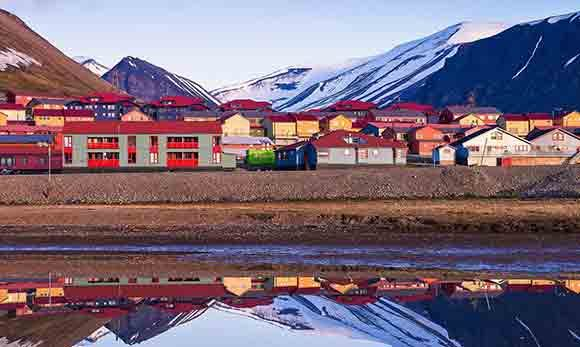 The town of Svalbard, Norway (Photo: Hand Luggage Only)