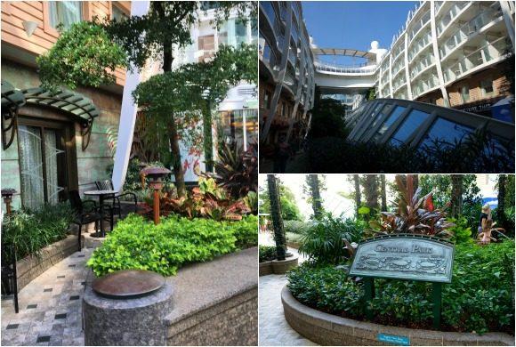 Central Park Neighborhood on Royal Caribbean's - Oasis of the Seas cruise ship