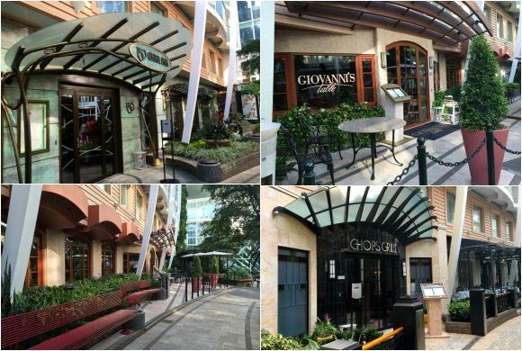 Central Park Specialty Restaurants on Royal Caribbean's - Oasis of the Seas