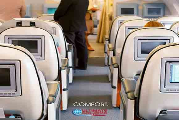 First Class Seats (Image Source Ultimate Class Airfares)