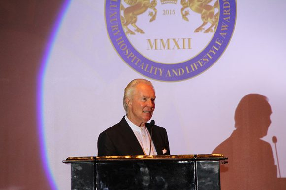 Mr Frank M Pfaller, Honorary Chairman of the Seven Stars Luxury Hospitality & Lifestyle Awards and President of the Hoteliers Guild (Image courtesy of Seven Stars Luxury Hospitality and Lifestyle Awards)