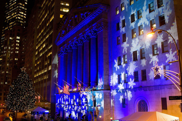 New York Stock Exchange Christmas Tree (Photo Credit: NYSE)